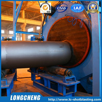 Used Sand Blasting Machines for Steel Pipes