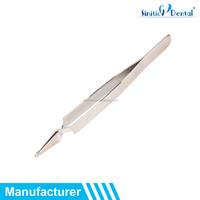 Sinitic Dental orthodontic hold posterior brackets Straight Tip Tweezer