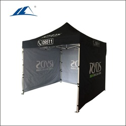 promotional pavillion tent with side walls for outdoor display