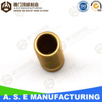 car parts manufacturing lathe cnc machining part brass knurling tapped pipe fitting