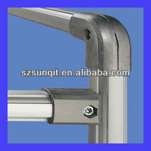 durable 3rd lean abs tube used in trolley system