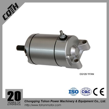Motorcycle Starter Motor for CG125 TITAN