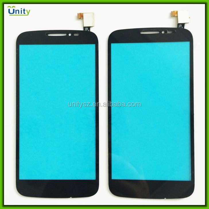 New LCD touch screen lens glass digitizer for Alcatel OT7040T