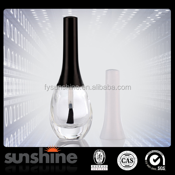 stock now round frosted glass bottle for nail polish bottle