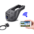 Novatek 96658 Wifi Hidden 1080P WDR Car DVR Universal Dual Camera Dash Cam