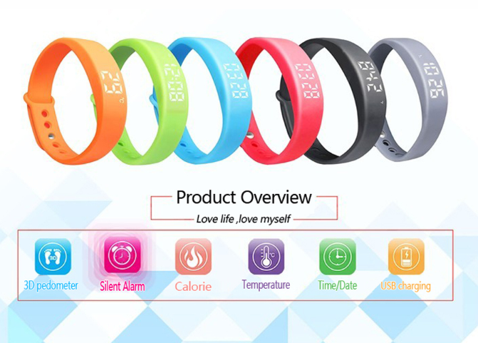 New Arrive W5 Smart Wristband Smart Watch Sport Bracelet For Mobile phone