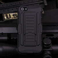 For iPhone 5/5S/5SE Case Cover Future Armor Impact Skin Holster Protector