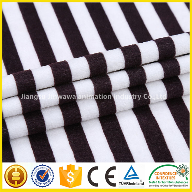 good quality buy 100 polyester yarn dyed knit print velboa upholstery Factory wholesale