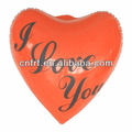 large inflatable red heart shape for promotional or advertising