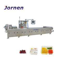 Plastic Container Thermoforming Food vacuum Packaging Machine For Food(DFP420)