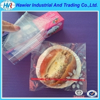 zip lock sandwich packaging plastic bag China manufacturer
