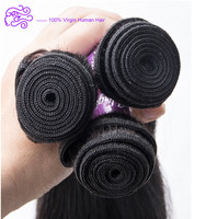 Top Grade Wholesale Price Silky Straight Human Hair Weft Virgin Brazilian Hair Extensions