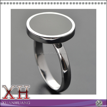 Factory price customized simple ring men and women unisex enamel rings