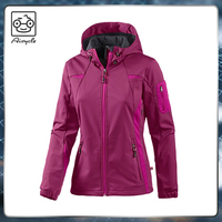 2016 latest promotion unique soft shell jacket for woman