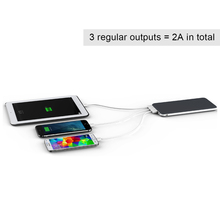 china innovation products with 3 inputs and 3 outputs 20000mah powerbank