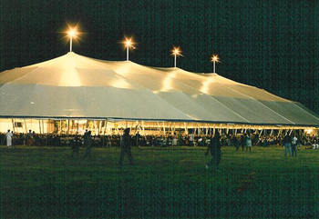 Giant Pole Tents