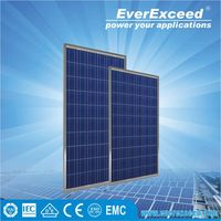 EverExceed 240w Polycrystalline Solar Panel for grid-on/off solar system