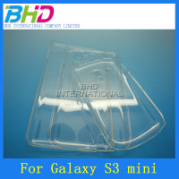 Wholesale mobile phone back cover clear case for Samsung Galaxy s3 mini i8190
