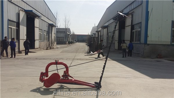 Factory supply tractor PTO driven cutter bar