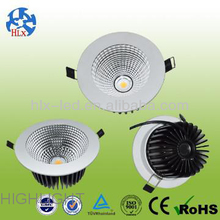 Popular COB Led Downlight:3/4/5/6/8Inch,12/15/20/40/50W,Sharp COB Light Source,High CRI