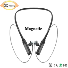2018 Best fashion Neckband sport Magnetic wireless earbuds bluetooth headset