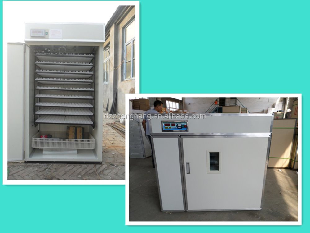 Dezhou cheap small capacity 1500 eggs automatic egg incubator