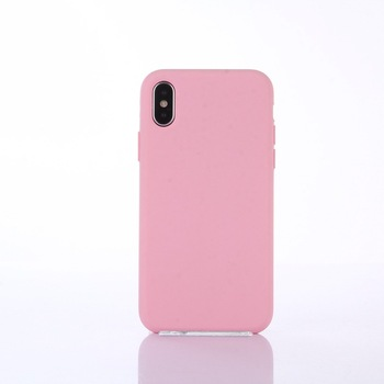 MaxShine Shockproof <strong>Microfiber</strong> Gel Rubber Case For Iphone X 7 8 Plus XS MAX liquid silicone case original with logo