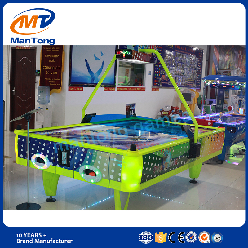 Two players popular indoor air hockey game machines high quality arcade hockey game machine