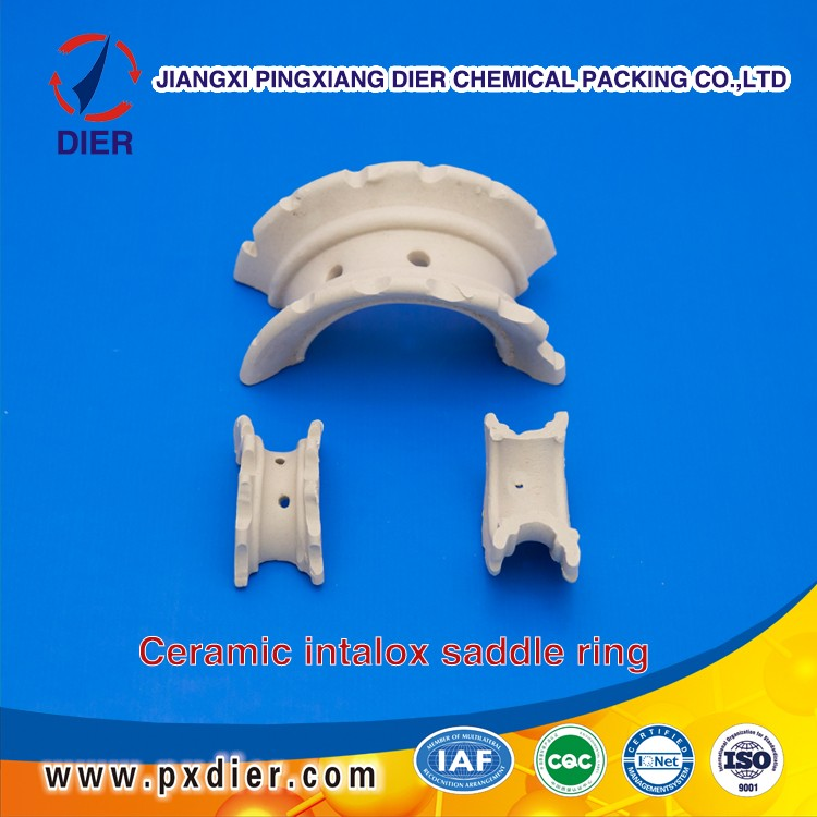 Ceramic Saddle Ring for Mass Transfer