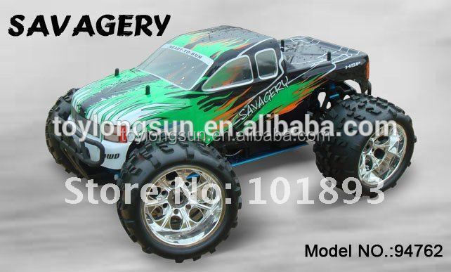 Best seller ERC762 1/8 scale nitro make your own rc car