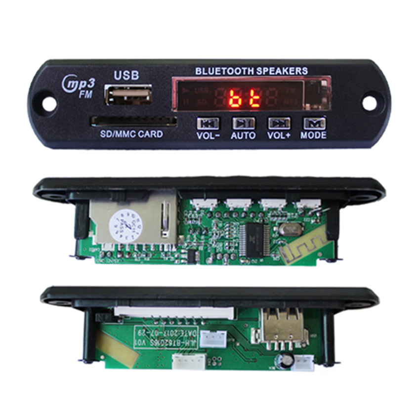 usb player microphone module bluetooth speaker mini board <strong>pcb</strong> and pcba board manufacturing