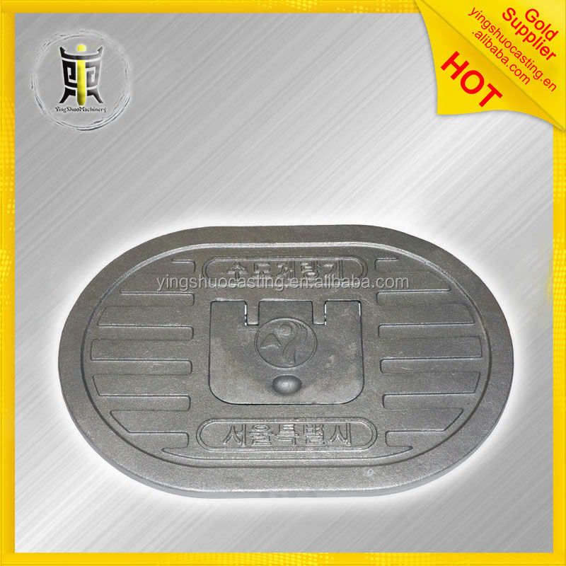 OEM customized sewer manhole cover and frame