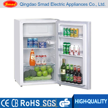 Home use table top mini upright freezer refrigerator