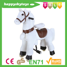 Funny ride toys!!!Hot sale horse walking machine,wholesale horse supplies,plush horse