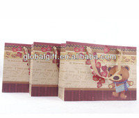 Wholesale craft paper shopping bags from china FSC-certified manufacturer