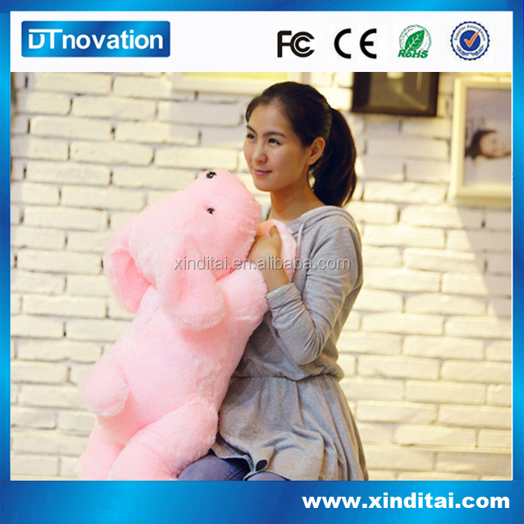 2014 LED Babycare Night Light Plush Toy with Lullaby Function
