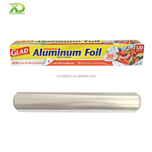 6mic 6.5mic 7mic Thickness Household Packaging Aluminum Foil Roll