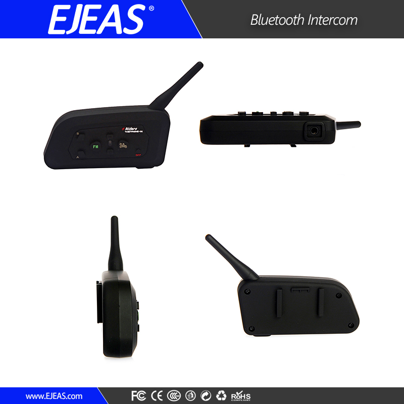 Vnetphone V4 1200m Wireless Bluetooth Headset Interphone Waterproof Motorcycle Helmet BT Intercom Full Duplex Motorcycle