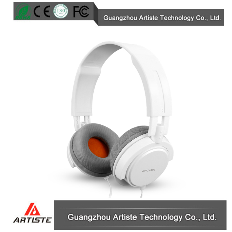 China factory best sale cheap white wired headset