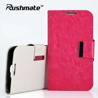 For Samsung Galaxy Note2 N7100 Wallet Pu Pink Leather Cover Case Skin Pouch
