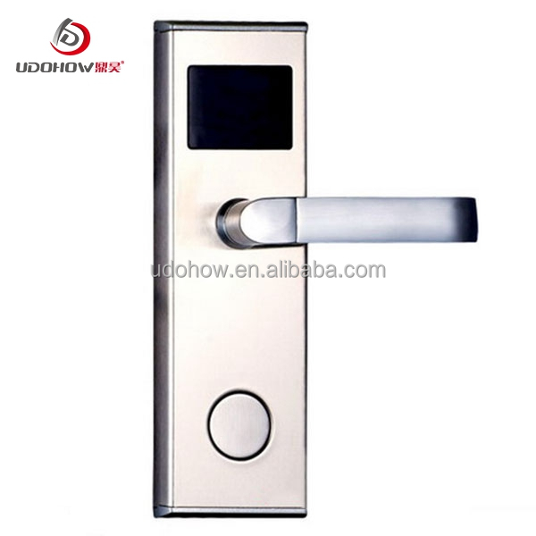 Udohow hot sale hotel lock with one card solution door system