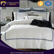 5 Star Embroidery Hotel Bed Set Hotel Used Hotel Bedding Linen