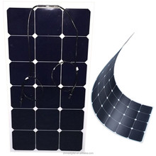 High efficiency 12v 18w 20w 30w 40w 50w 60w 100w sunpower flexible solar panel 12v