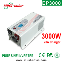 Pure Sine Wave Inverters 3000w Battery Priority 12v, Dc to Ac Inverter 3000w