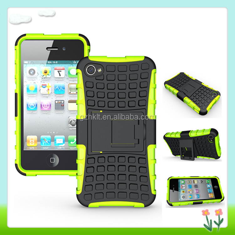 Ultra Slim Phone Accessory Mobile Phone Cover Combo Case For iPhone 4/4s