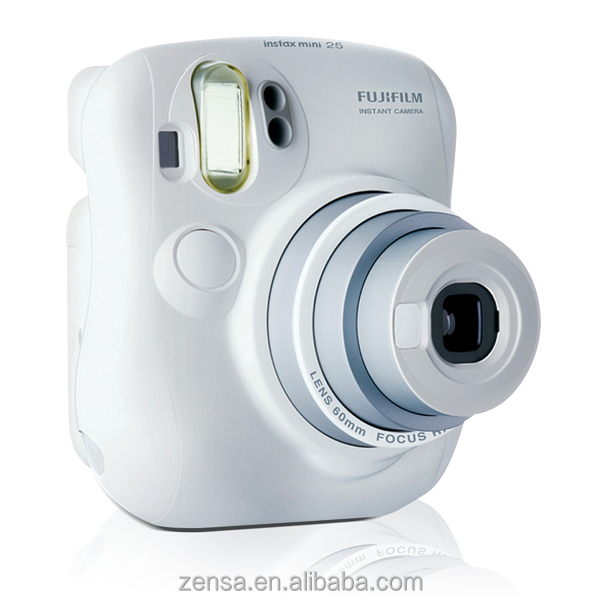 Fuji Fujifilm Instax Mini 25 Camera White Instant Film Polaroid Photo