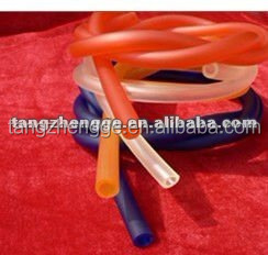 PVC Soft Round Profile Transparent PVC Soft Rod Solid Plastic Bars