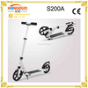 wholesale double 200mm big wheel kick scooter for adults