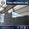 q235 Hot sale galvanized Iron steel Tube Price/galvanized steel round and square and rectangular steel tube