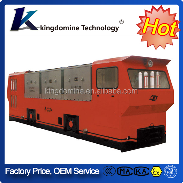 35t Electric diesel railroad locomotive for mucking in mining and tunneling